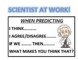 Science Sentence Stems