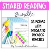 Print & Digital Shared Reading Poems | A Poetry Bundle for Kindergarten & 1st