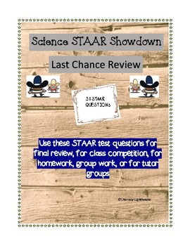 STAAR Science Review/STAAR Showdown