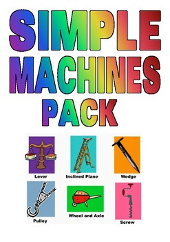 Science - Simple Machines Pack