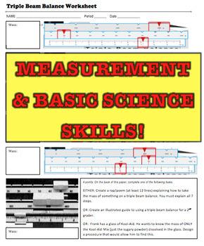 Science Skills Bundle (Scientific Method, Measurement, Lab Safety)