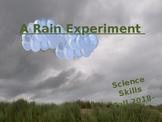 Science Skills Experiment: Make it Rain