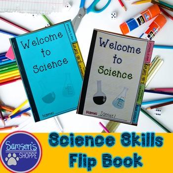 Science Skills Flip Book Activity