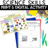 Science Skills Printable, Task Cards and Activity for Goog