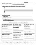 Science Skills Quiz and Study Guide