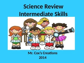 Science Review - Intermediate Level, cells, solar system, moon phases, organs