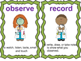 Science Skills Vocabulary Cards