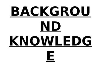 Science Skills Word Wall