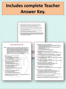 Comparing and Contrasting: A Science Skills Worksheet and PowerPoint