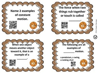 Science Sleuths: Investigate Force & Motion **With QR Codes**