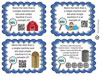 Science Sleuths: Investigate Simple Machines **WITH QR CODES**
