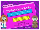 Science Sleuths Task Card Bundle: Force & Motion, Newton's Laws, Simple Machines