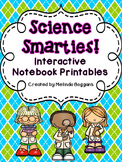 Science Smarties: Interactive Notebook Printables {1st grade}