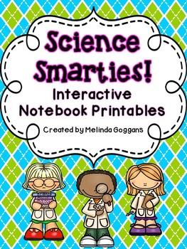 Science Smarties: Interactive Notebook Printables {1st grade}