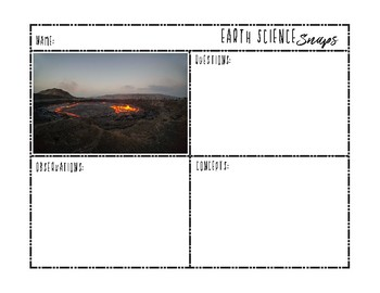 Science Snaps - 6th Grade Earth Science Picture of the Week {FREE SAMPLE}