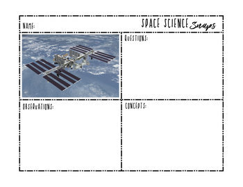 Science Snaps - Earth + Space Science Picture of the Day BUNDLE {Middle School}