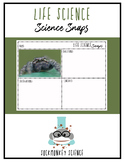 Science Snaps - Life Science Picture of the Day Worksheets {Middle School}