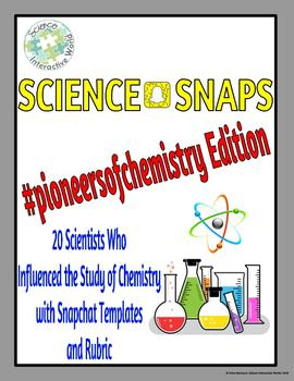 Science Snaps - Pioneers of Chemistry Edition
