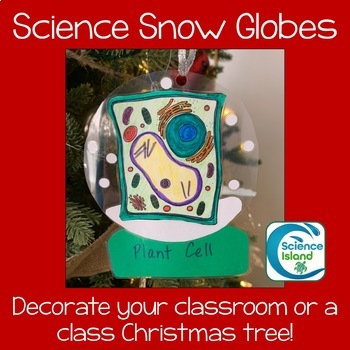 Science Snow Globe Ornaments