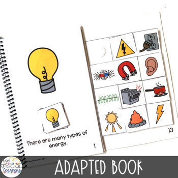 Science & Social Studies Adapted Books for Special Education BUNDLE