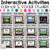 Science & Social Studies Digital Activities BUNDLE for Spe