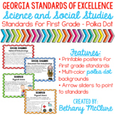 GA Standards of Excellence Social Studies Science Posters