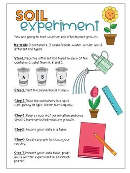 Science: Soil experiment