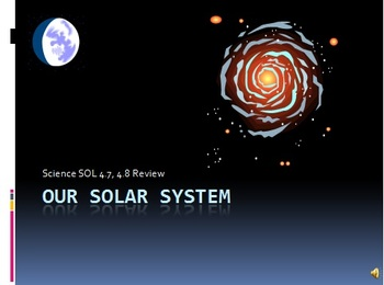 Science Solar System Instructional PowerPoint with Activities