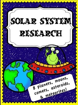 Solar System Research Packet