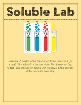 Science Soluble Labs