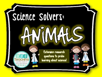 Science Solvers: Animal Research Cards