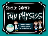 Science Solvers: Fun Physics Research Cards