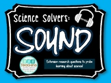 Science Solvers: Sound Research Cards