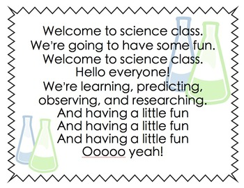 Science Song
