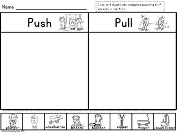 Simple Science: Science No Prep Sorting Sheets