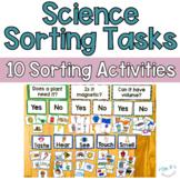 Science Sorting Tasks (SET 1) Hands On Science Centers
