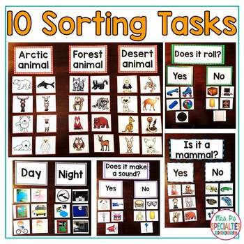Science Sorting Tasks *SET 2*