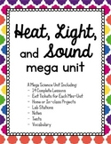 Science - Heat, Light, and Sound Energy Waves mega unit