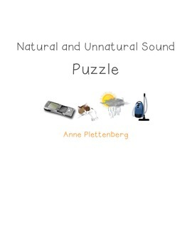 Science: Sound - Natural and Unnatural Sound Puzzle