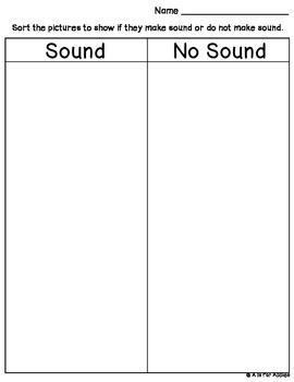 Science Sound Sort