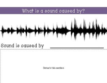 Science Sound Unit Adapted Book