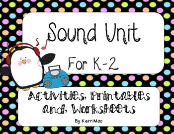 Science Sound Unit First Second Grade