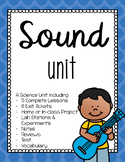 Science - Sound Energy Waves unit