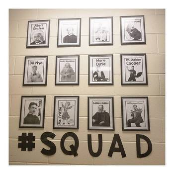 Science Squad Display/Bulletin Board