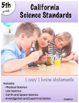 Science Standards California