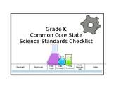 Science Standards Checklist