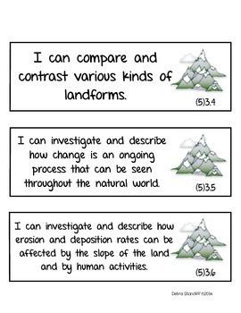 Science Standards Fifth Grade