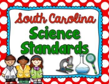 Science Standards - Grade 5 - South Carolina