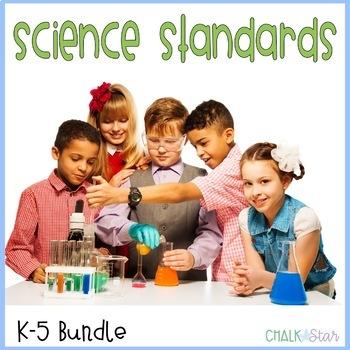 Science Standards K-5 Bundle