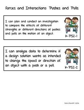 NGSS Science Standards Kindergarten